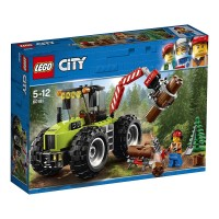 Lego City Tractor Forestal