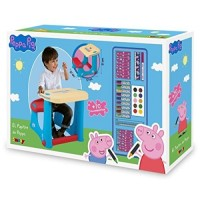 Peppa Pig Pupitre + Accesorios