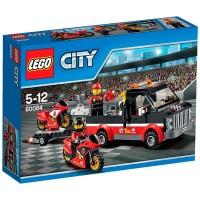 Transporte Moto Carreras de Lego