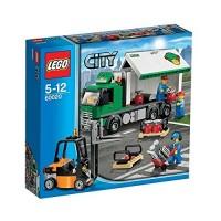 Aeropuerto Camión de Mercancías de Lego