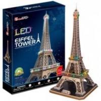 Puzzle 3D Torre Effiel 82 Pzas C/Luz