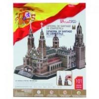 Puzzle 3D Catedral de Santiago de Compostela 101 Piezas