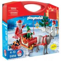 Maletín Trineo Papa Noel de Playmobil