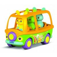 Tomy Conejitos PopStars y Su Bus