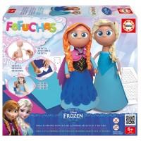 Fofucha Frozen Elsa y Anna
