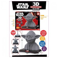 Puzzle 3D Sculpture Star Wars Yoda