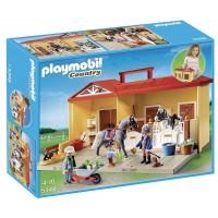 Playmobil Maletín Establo de Caballos