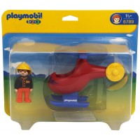 Playmobil Helicóptero de Rescate 1,2,3