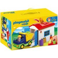 Camión C/Garaje de Playmobil 1,2,3