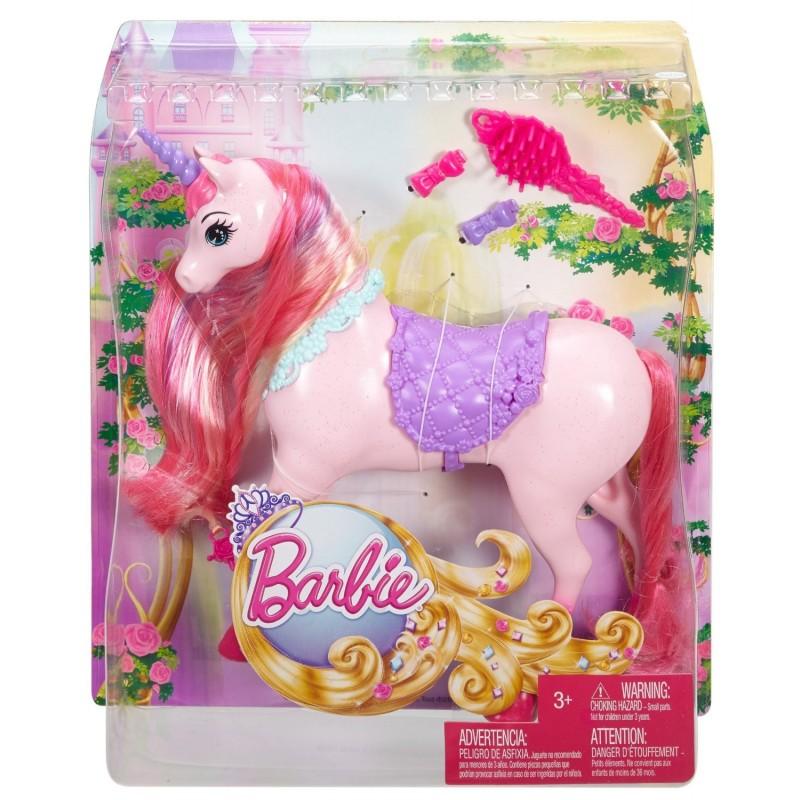 Barbie Unicornio Reino Peinados Mágicos