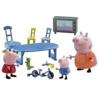 Peppa Pig Playset Familia