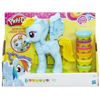 My Little Pony Peinados de Play Doh