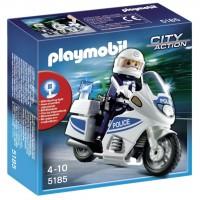 Moto de Policía de Playmobil