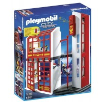 Estación de Bomberos De Playmobil