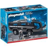 Camión Unidad Especial de Policía de Playmobil