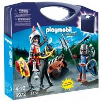 Maletín Caballeros de Playmobil