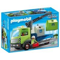 Camión de Contenedores de Playmobil