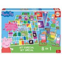 Peppa Pig Juego Educativo 8 en 1
