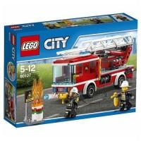 Lego City Camión De Bomberos Con Escalera
