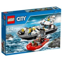 Lego City Barco Patrulla de la Policía