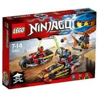Lego Ninjago Persecución en Moto Ninja