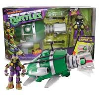 Submarino + Figura Donatello Tortuga Ninja