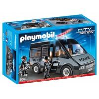 Furgón Policía C/luces de Playmobil