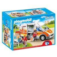 Ambulancia C/Sonido de Playmobil