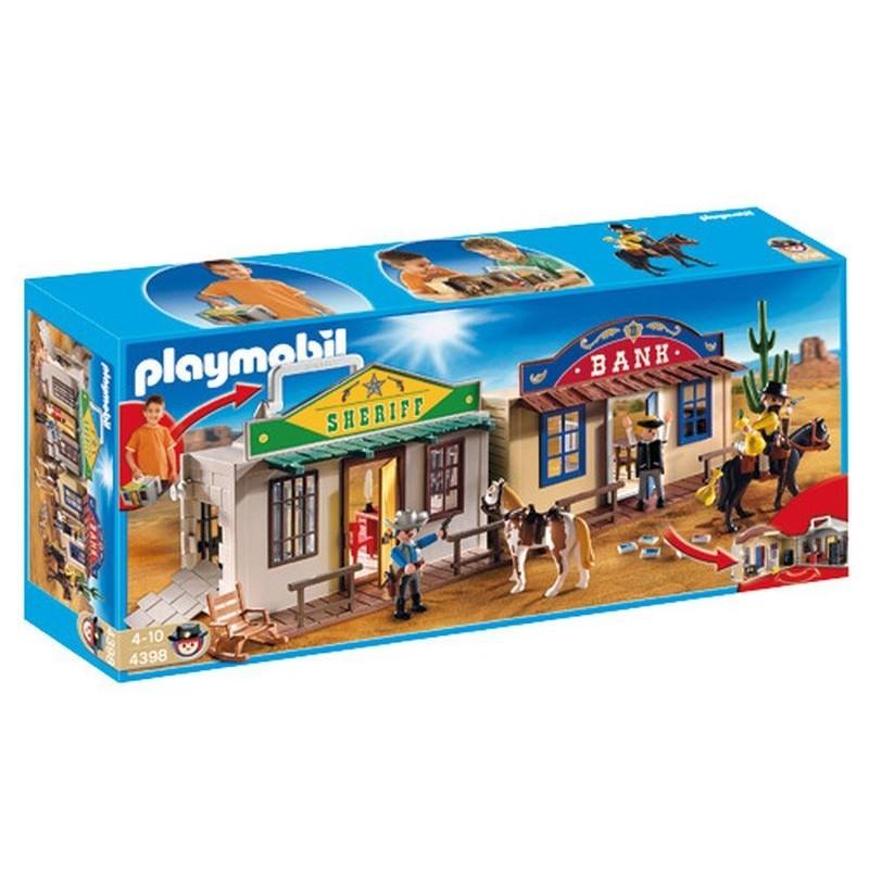 Ciudad del Oeste Maletin de Playmobil