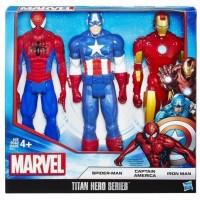 Superheroes Titán Pack de 3 Unidades