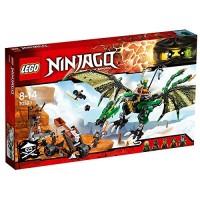 Lego Ninjago Dragón NRG Verde