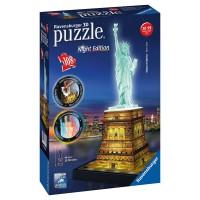 Puzzle 3D Estatua de la Libertad C/Luz