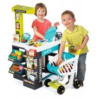 Supermercado Electrónico + Carro de Smoby