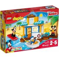Lego Duplo Casa en la Playa de Mickey y sus amigos