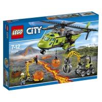 Lego City Volcán Helicóptero de Suministros