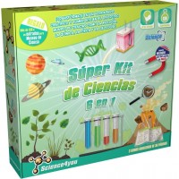Super Kit de Ciencias 6 en 1