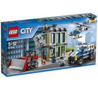 HUIDA CON BULLDOZER DE LEGO CITY