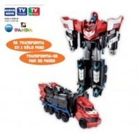 Optimus Prime Transformers 3 Pasos