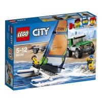 LEGO CITY 4*4 CON CATAMARAN