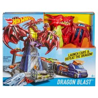 HOT WHEEL PISTA DRAGON ATTACK