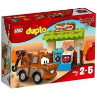 Lego Duplo Cobertizo De Mate Cars 3