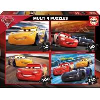 Cars 3 Multi 4 Puzzles
