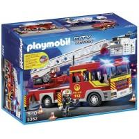 Camion Bomberos C/Escalera de Playmobil