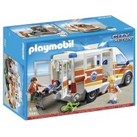 Ambulancia C/Sirena de Playmobil