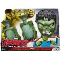 Musculos y Mascaras Hulk Vengadores