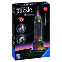 Puzzle 3D Empire State 216 Pzas Night Edition