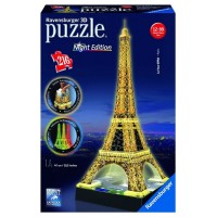 Puzzle 3D Torre Eiffel Eidcion Night 216 Pzas