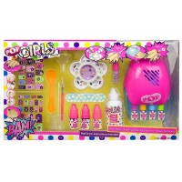 Set Uñas C/Secador Pop Girl