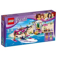 Lego Friends Remolque De La Lancha De Andrea