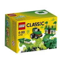 Caja Creativa Verde De Lego Classic